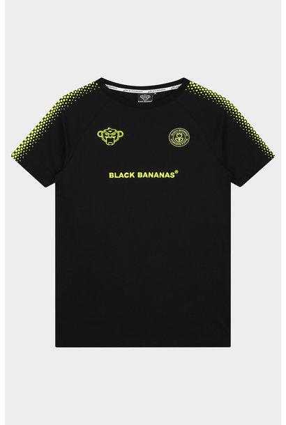 Hexagon Tee Black/Yellow