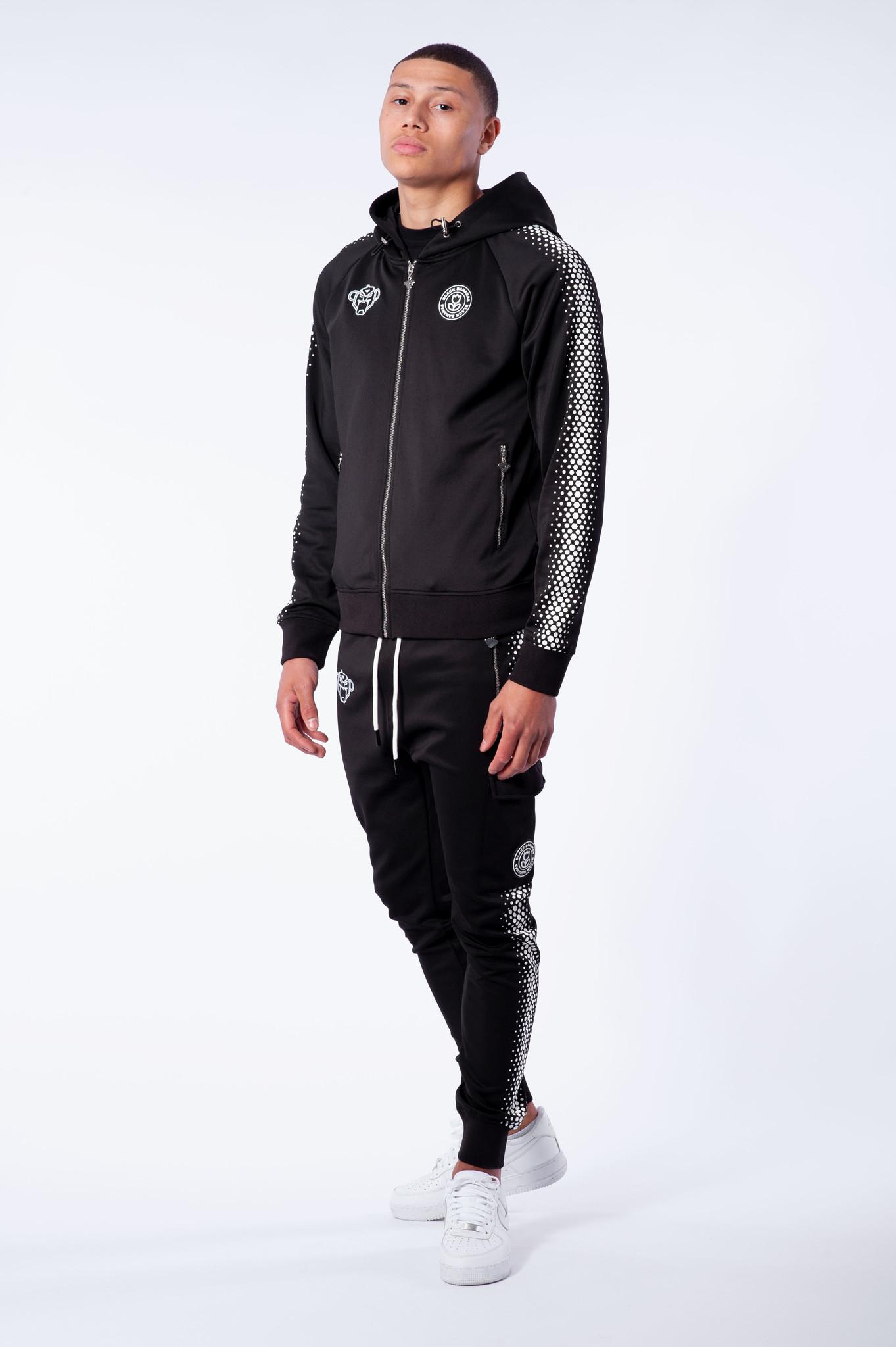 Hexagon Tracksuit Black/White-3