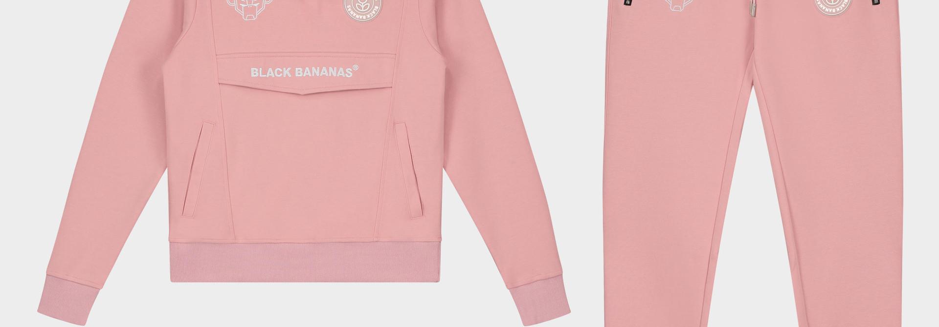 Jr. Girls Anorak Tracksuit Pink