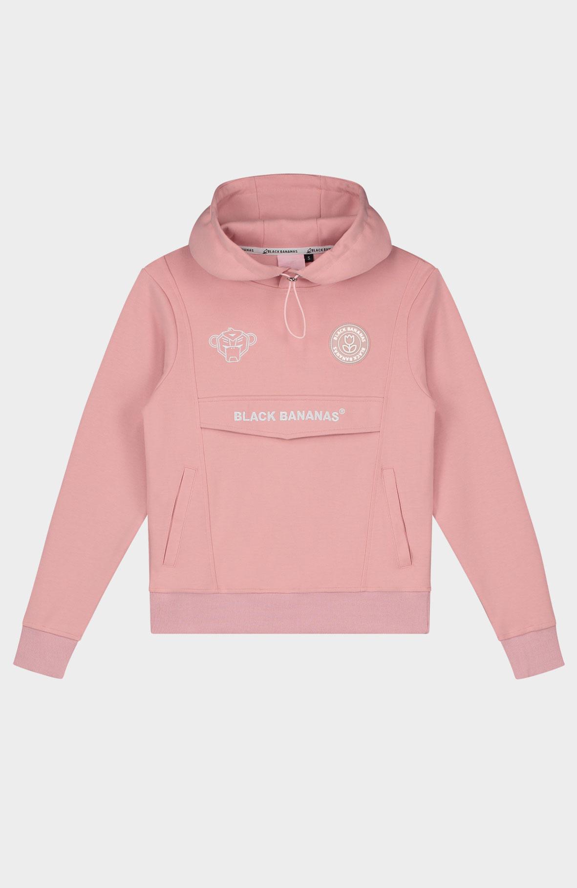 Jr. Girls Anorak Tracksuit Pink-2