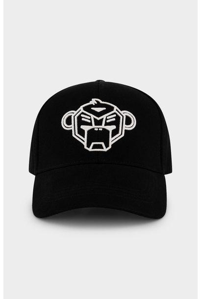 Pique Cap Black