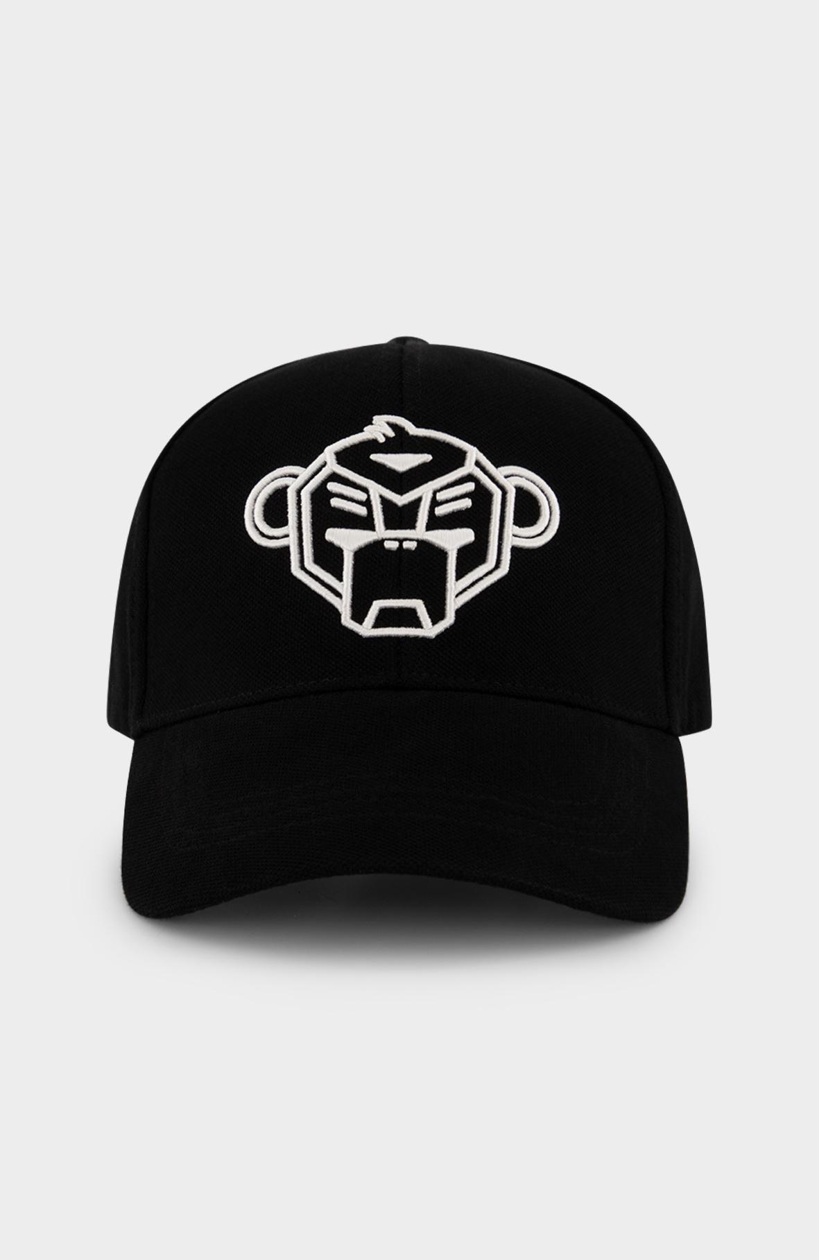 Pique Cap Black-1