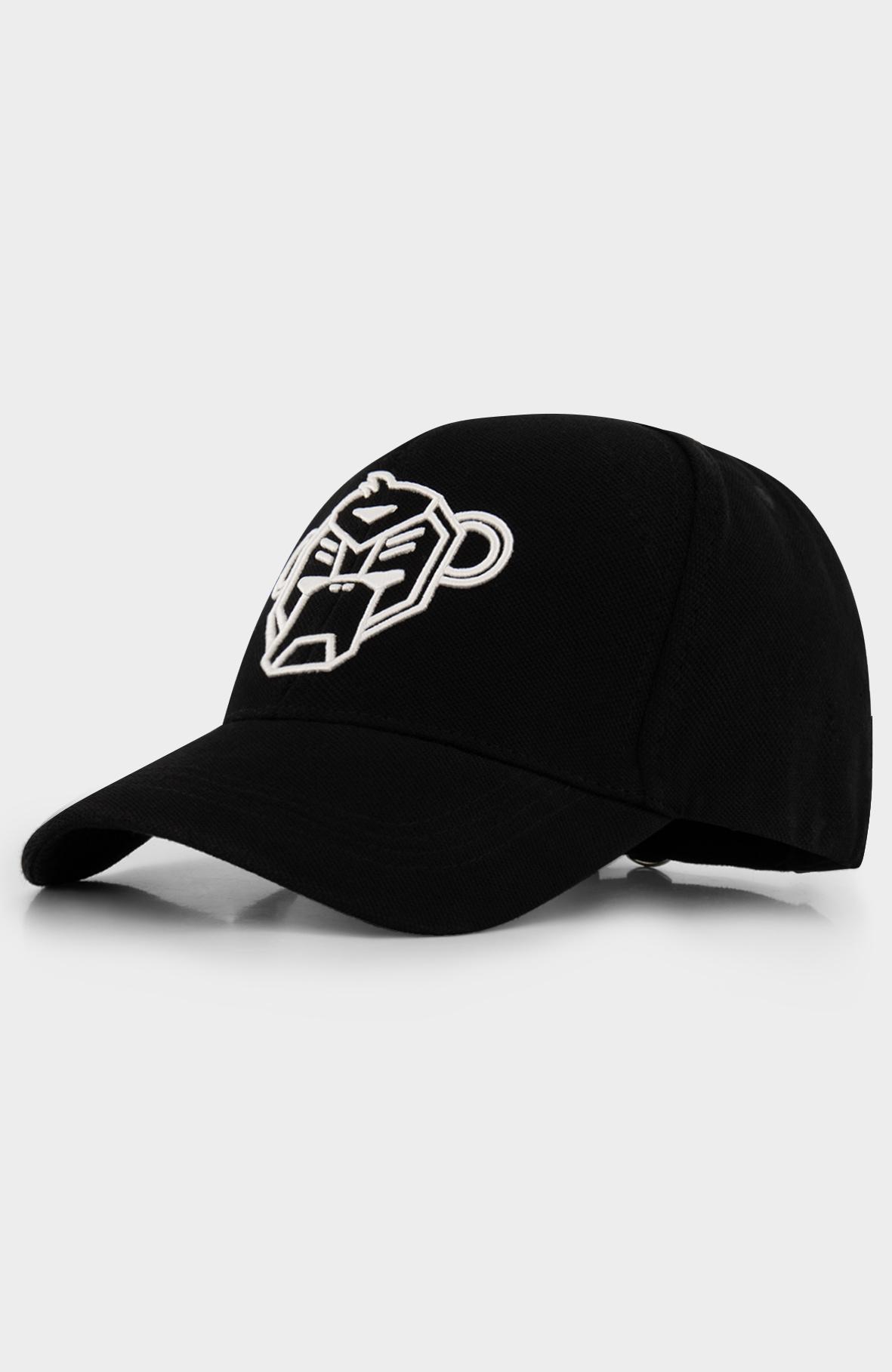 Pique Cap Black-2