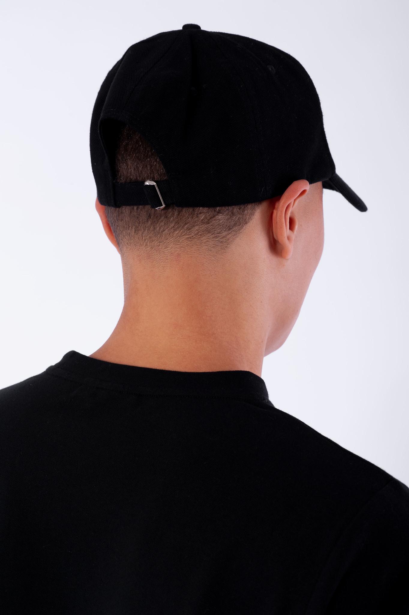 Pique Cap Black-4