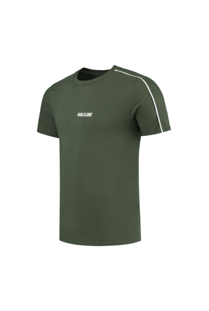 Malelions Sport Coach T-shirt Army White