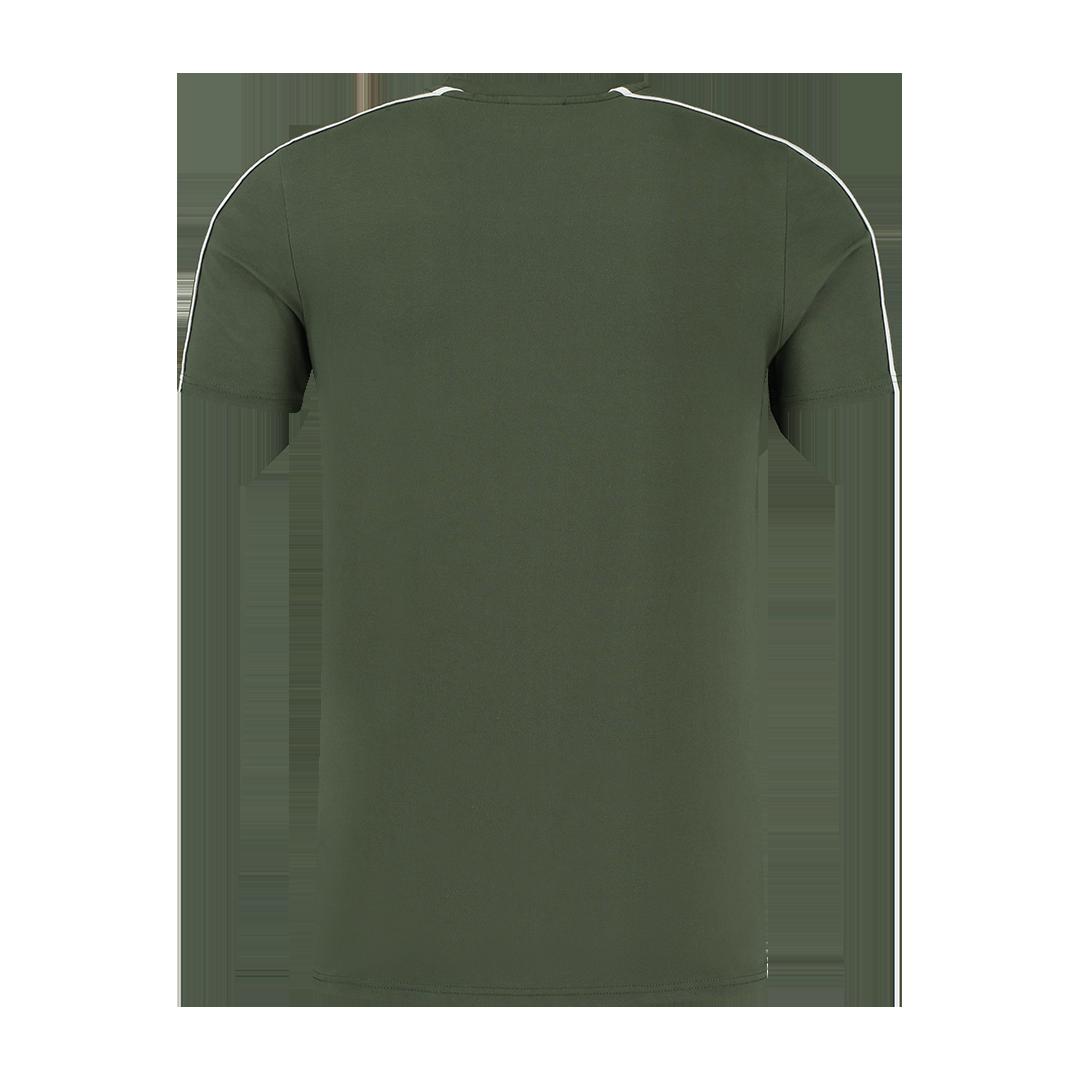 Malelions Sport Coach T-shirt Army White-2