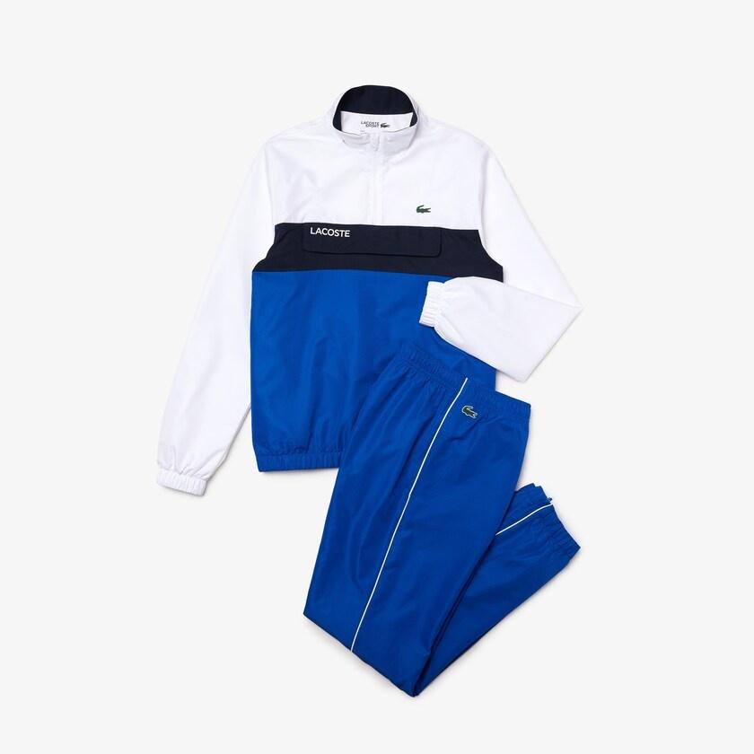 Lacoste sport trainingspak heren Blue/white-1