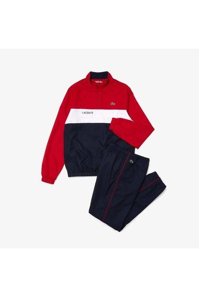 Lacoste sport trainingspak heren Ruby/Navy