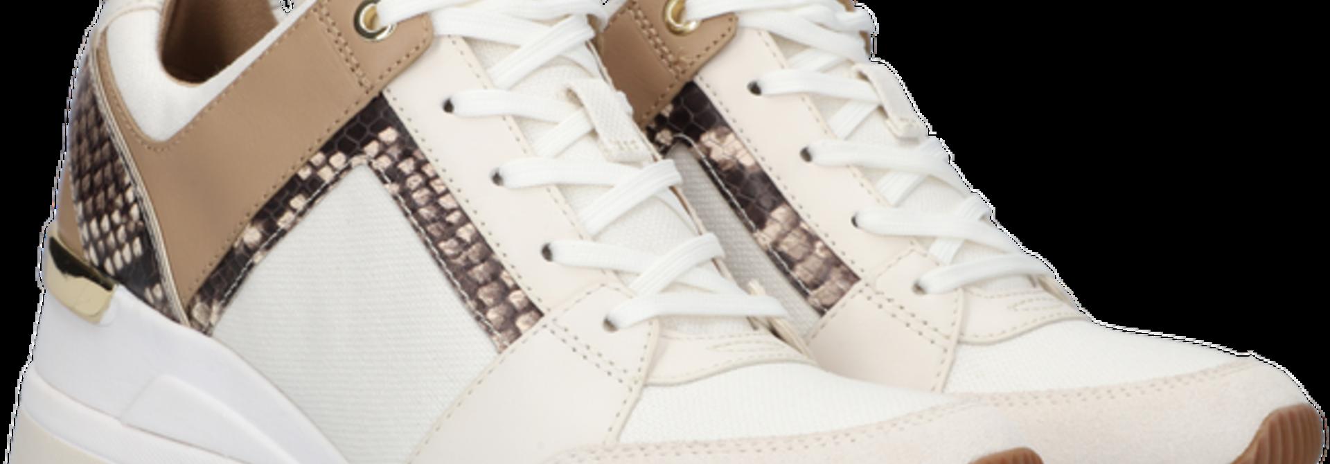 Michael Kors / Georgie Trainer Canvas Cream Multi