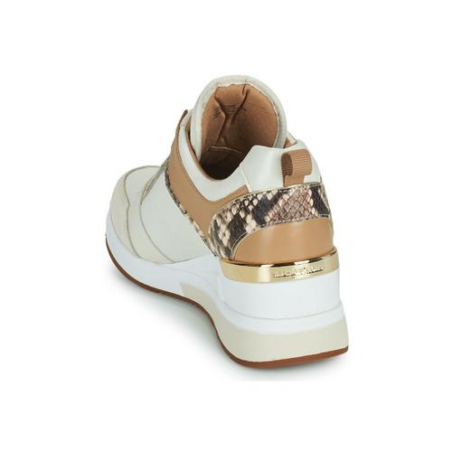 Michael Kors / Georgie Trainer Canvas Cream Multi-5