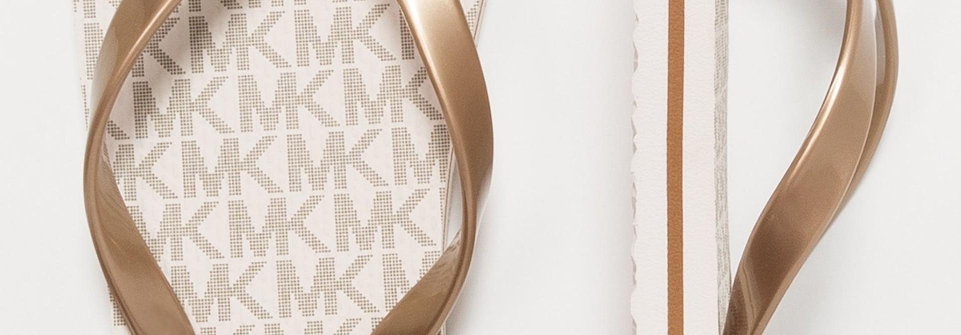 Michael Kors  Flip Flop Stripe Eva Vanille