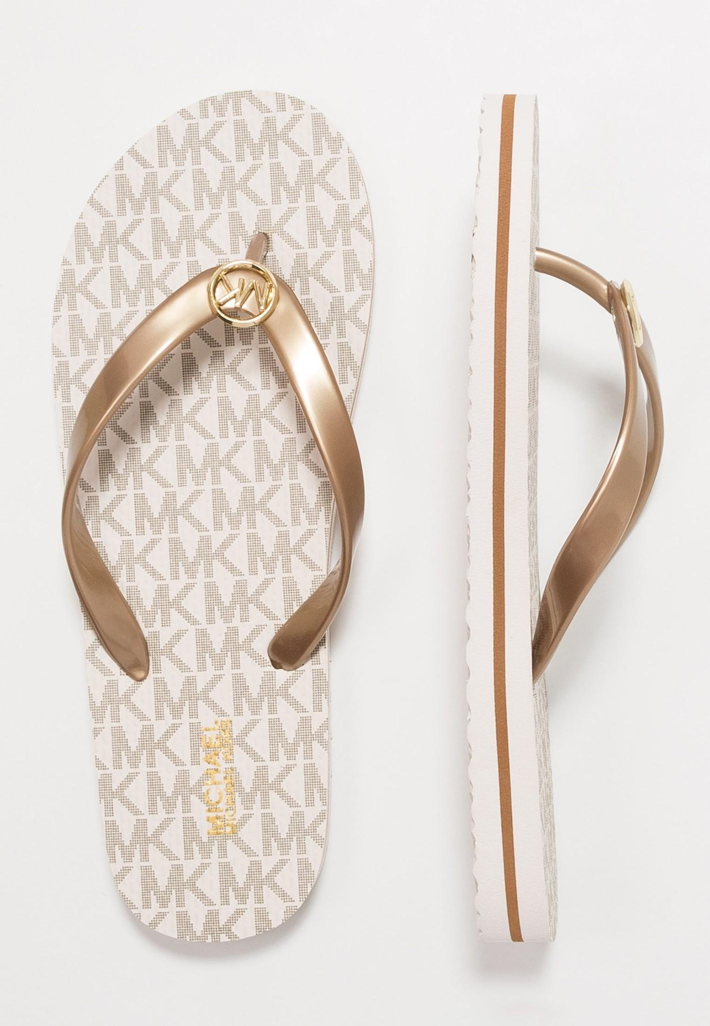 Michael Kors  Flip Flop Stripe Eva Vanille-1