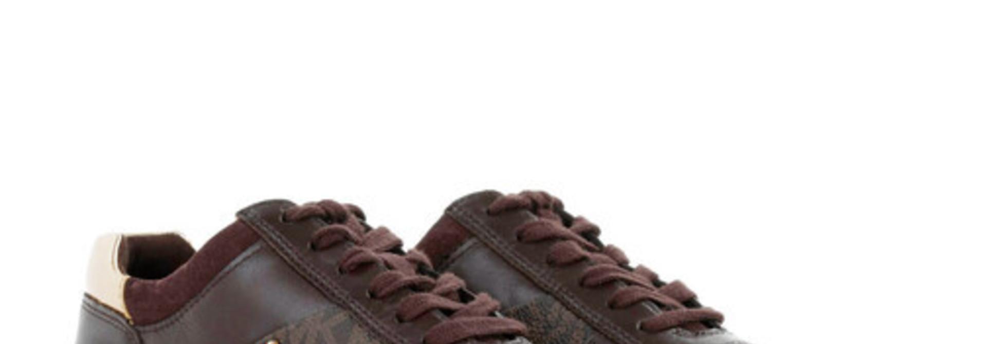 Michael Kors / Allie Wrap Trainer Brown
