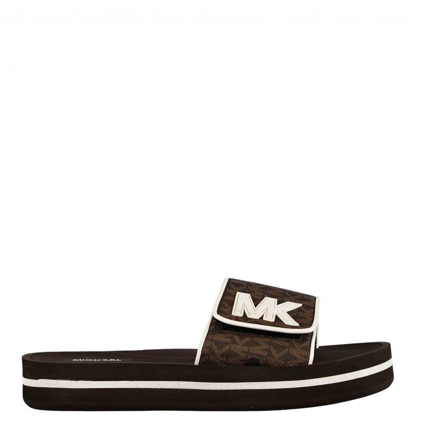 Michael Kors MK Platform Brown-2