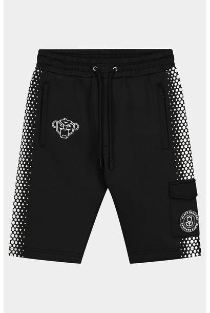 Jr. Hexagon Short Black/White
