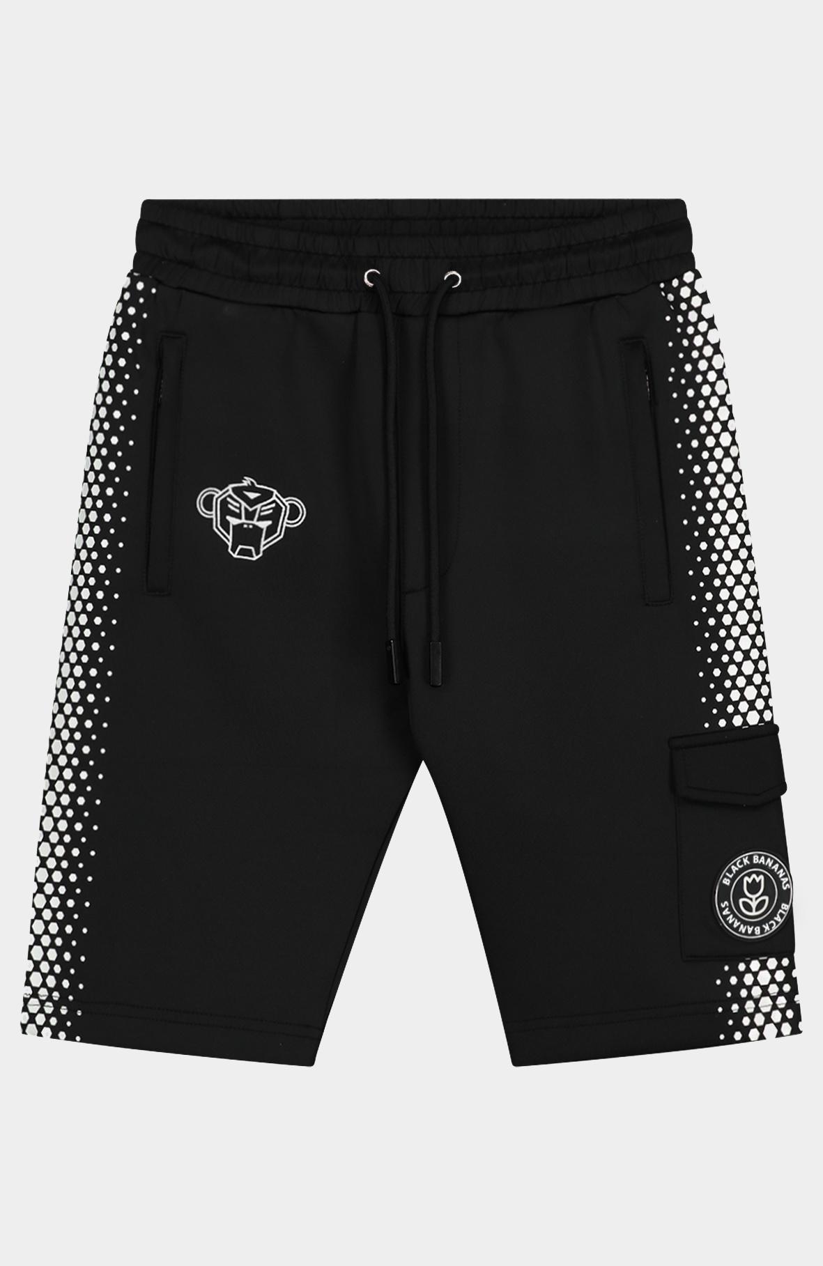 Jr. Hexagon Short Black/White-1