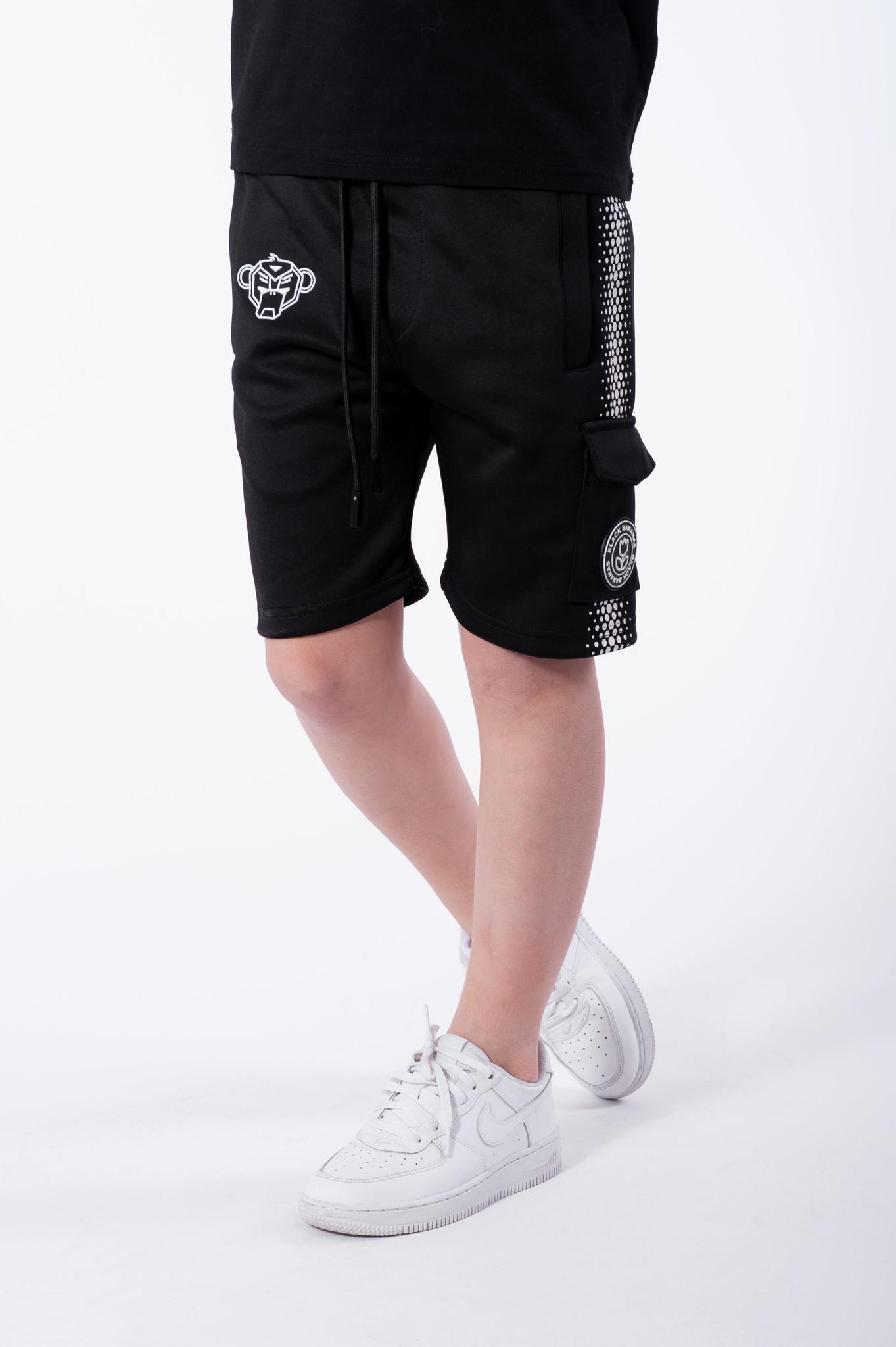 Jr. Hexagon Short Black/White-2