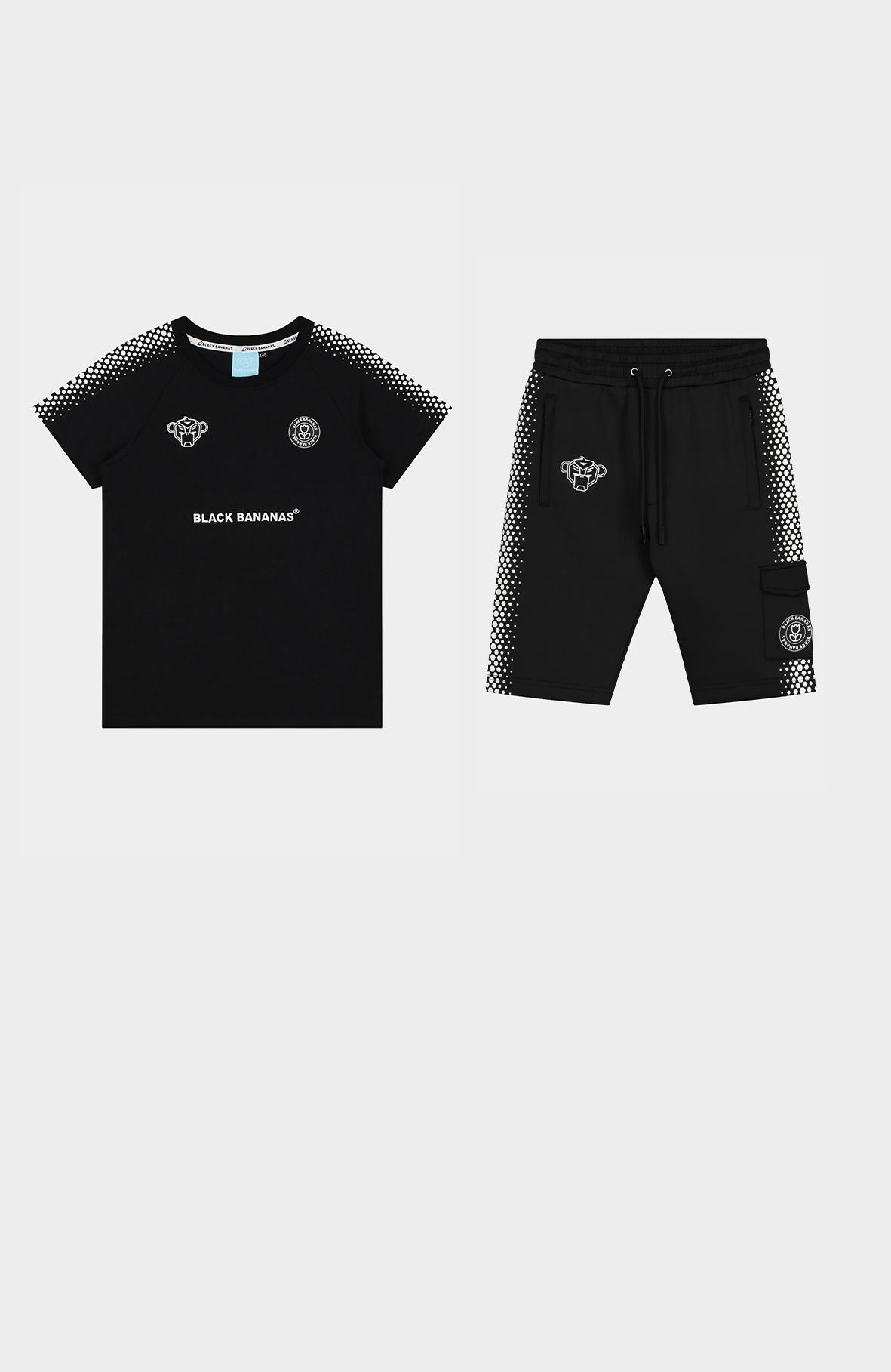 Jr. Hexagon Short Black/White-3