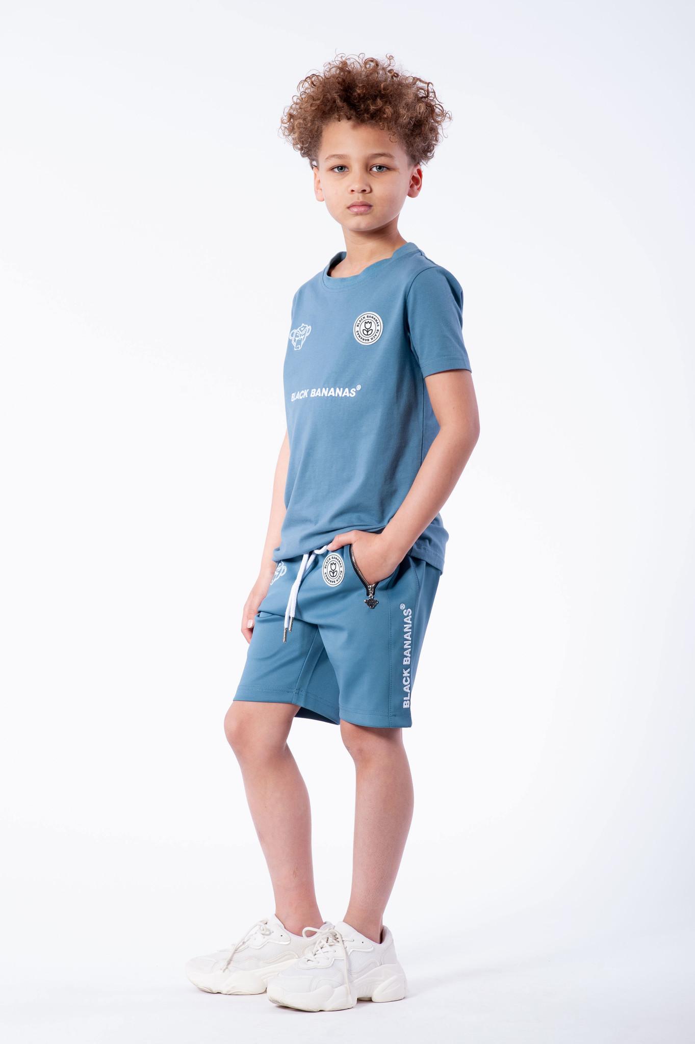 Jr. F.C. Basic Short Blue-2