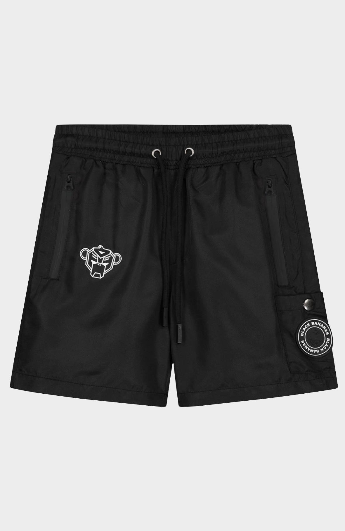 Jr. Pocket Swimshort Black-1