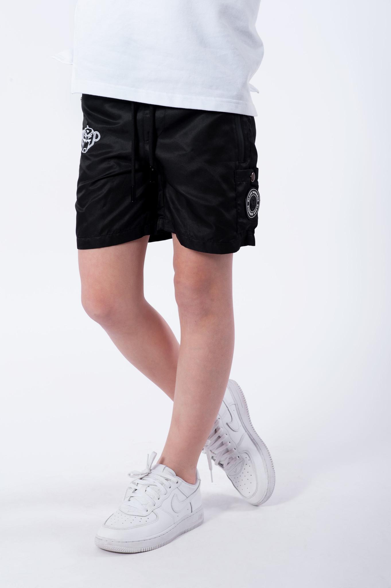 Jr. Pocket Swimshort Black-4