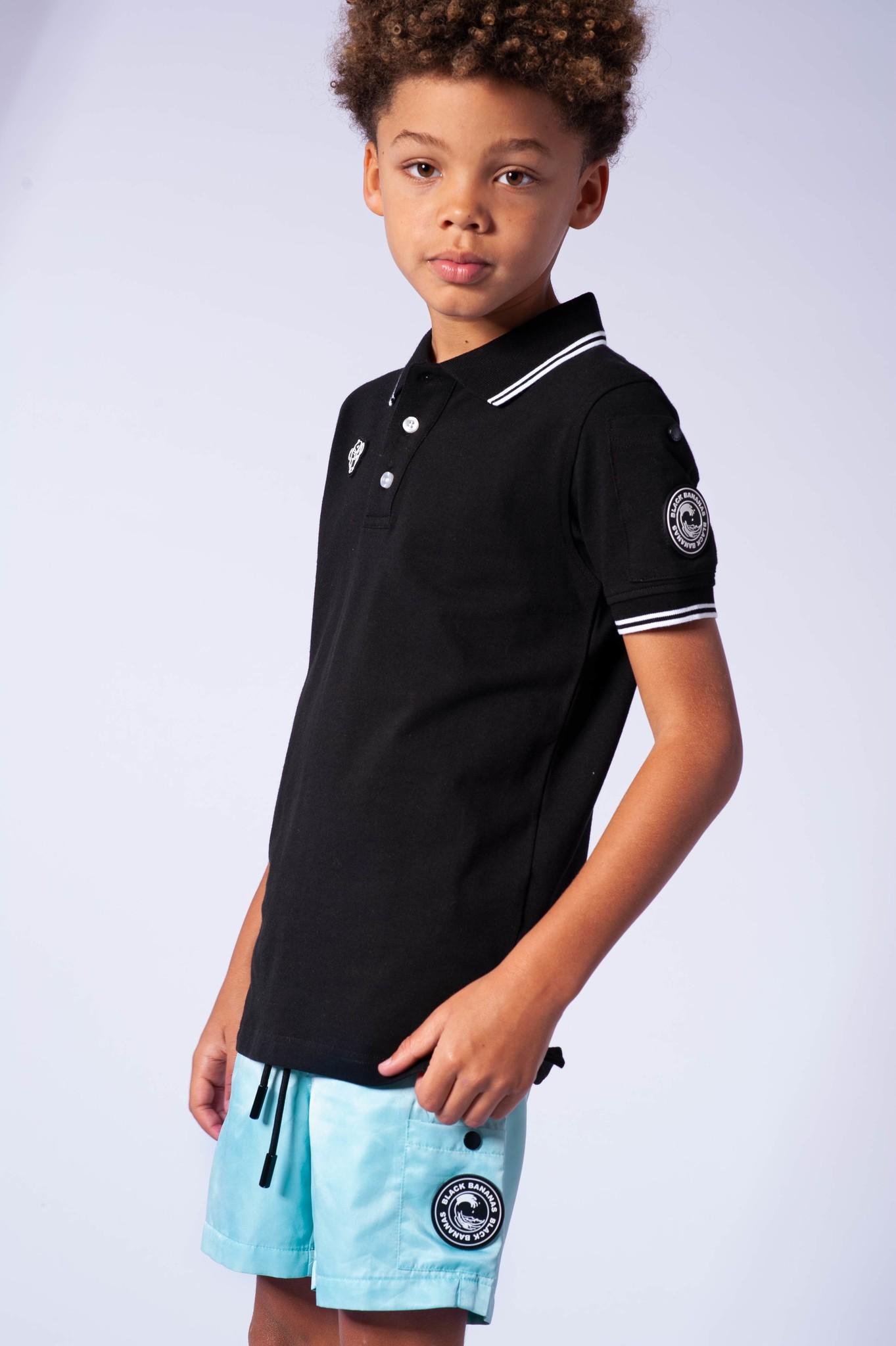 Jr. Wacy Polo Black-3
