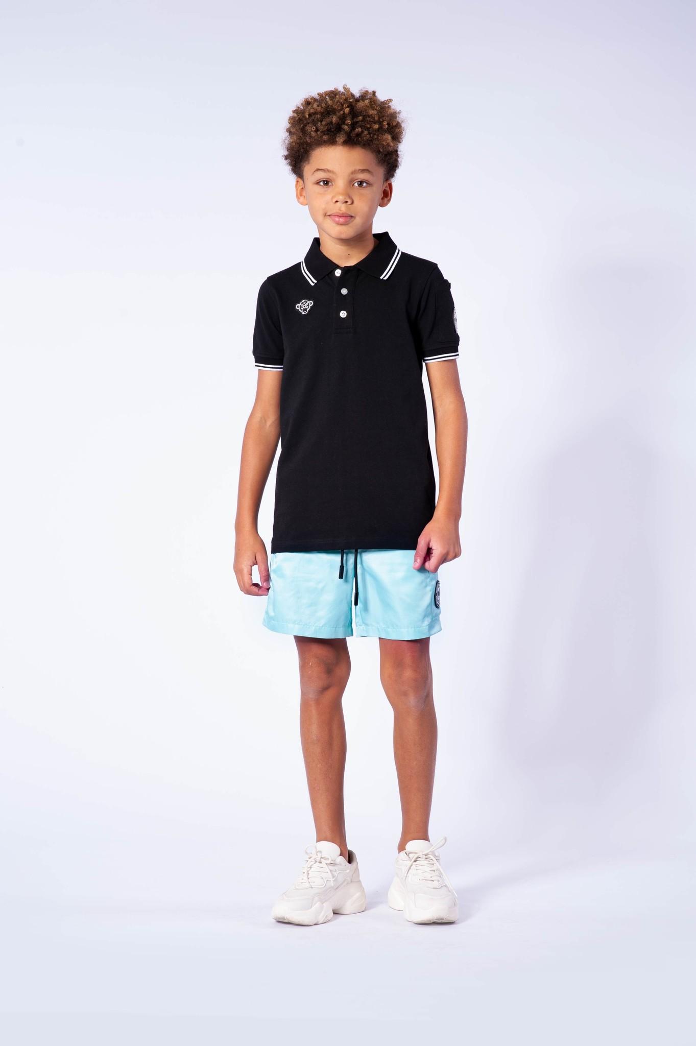 Jr. Wacy Polo Black-4