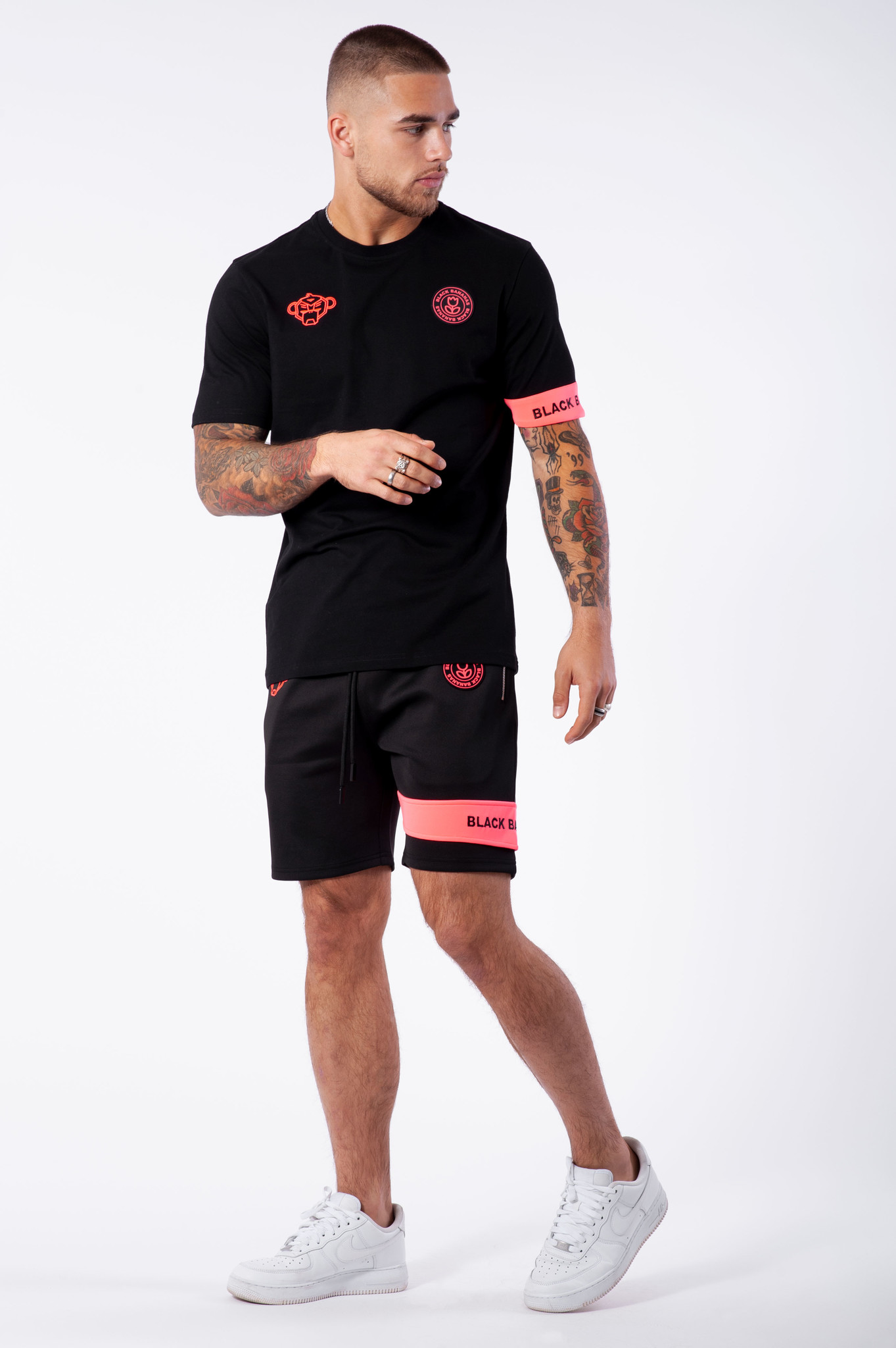 Command Short Black/Neon/Pink-3