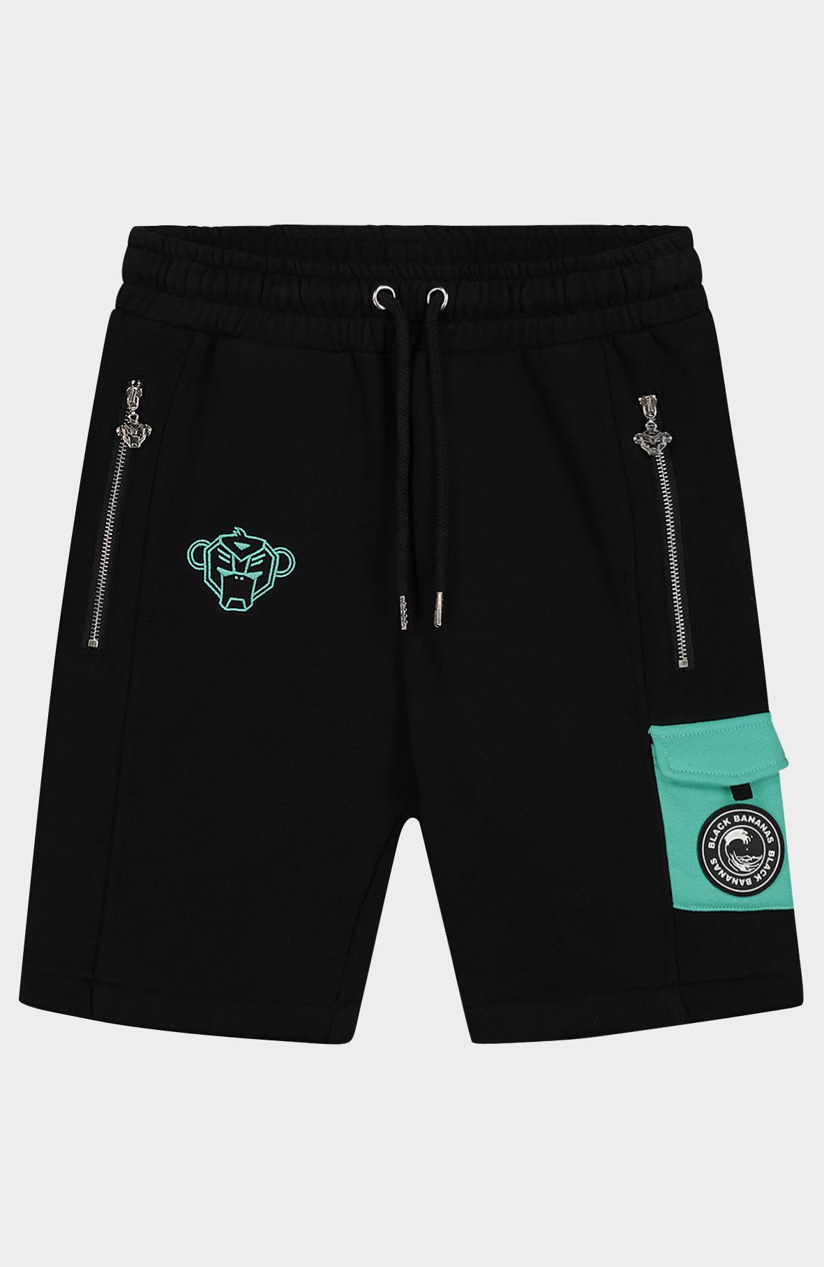 Jr Contrast Pocket Short-1