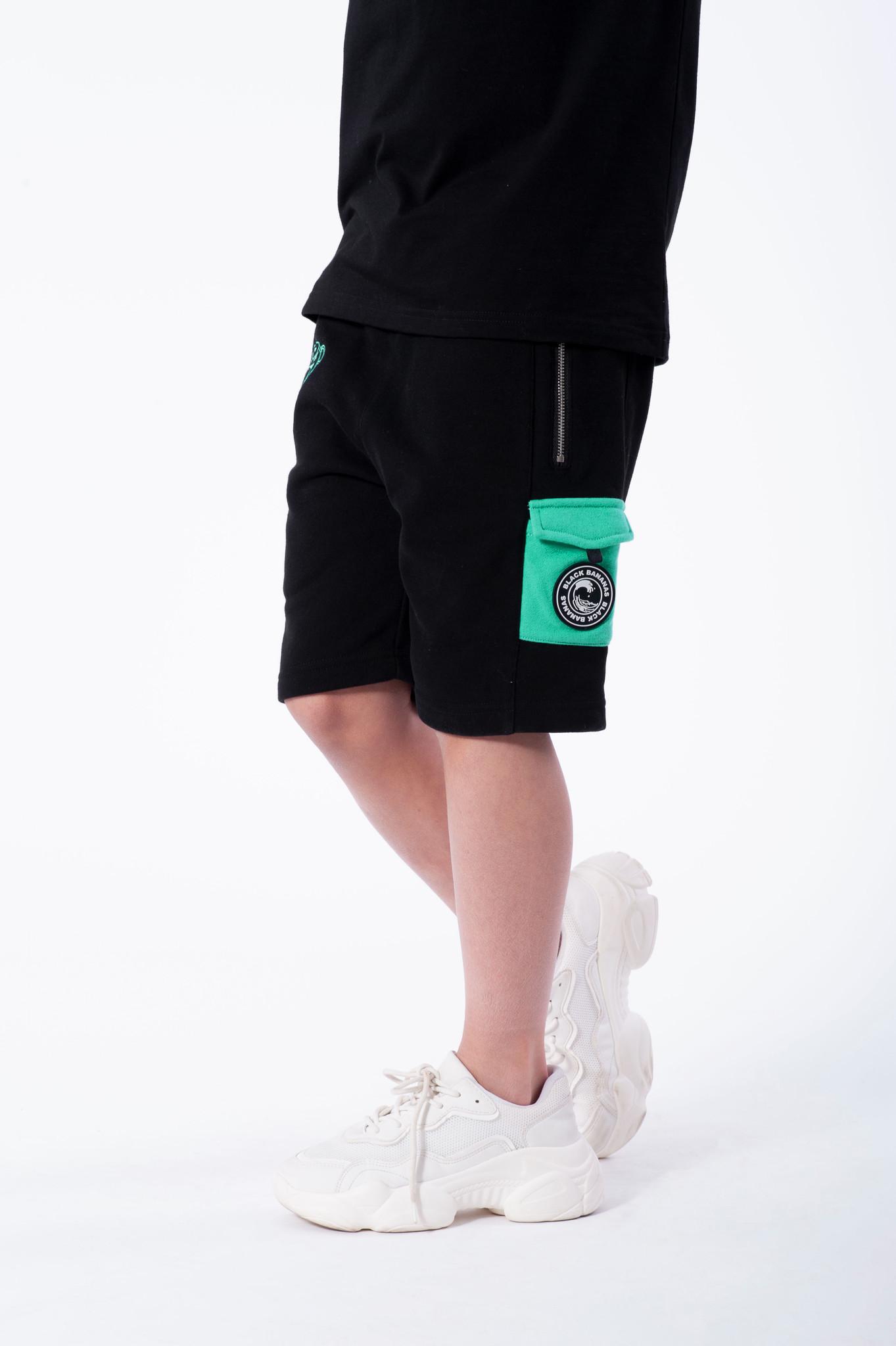 Jr Contrast Pocket Short-2