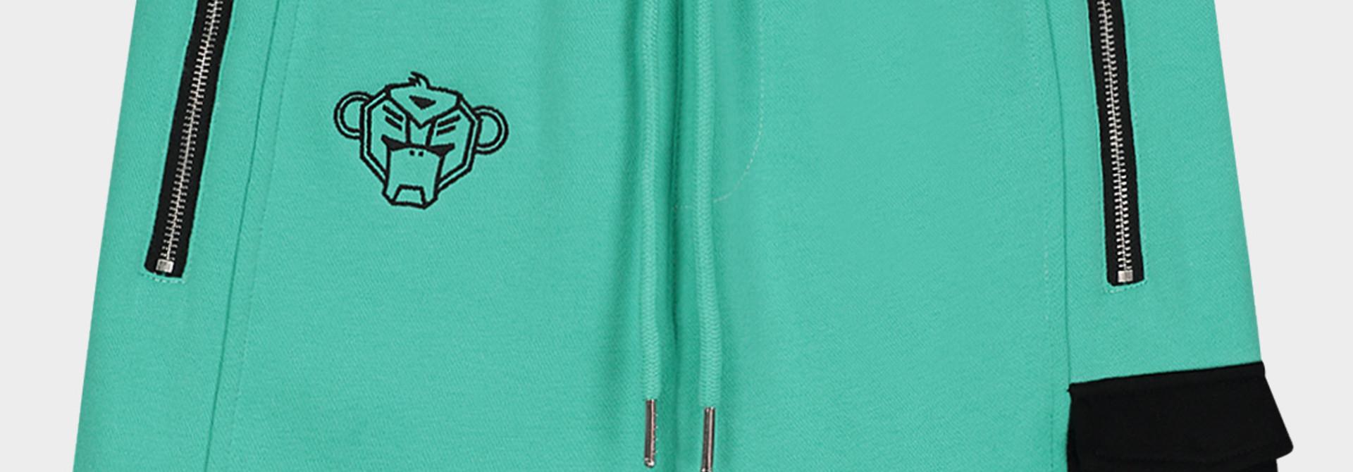 Jr. Contrast Pocket Short Aqua