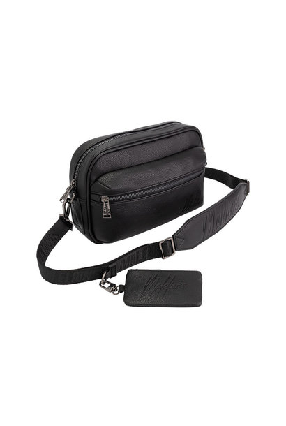 Malelions Void Messenger Bag- BLACK