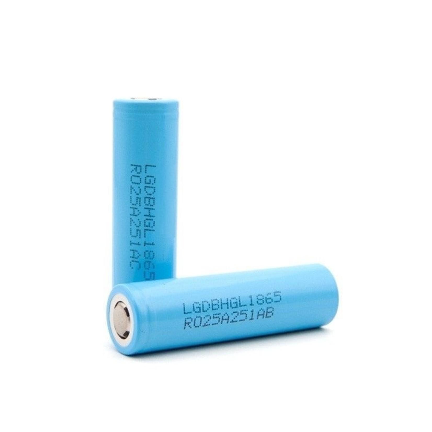 Industriebatterie LG HG2L, 18650, Flat Top