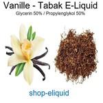 Vanille-Tabak E-Liquid