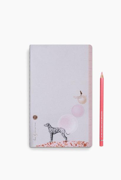 Loua Notebook - Dalmi Dog (5 stuks)