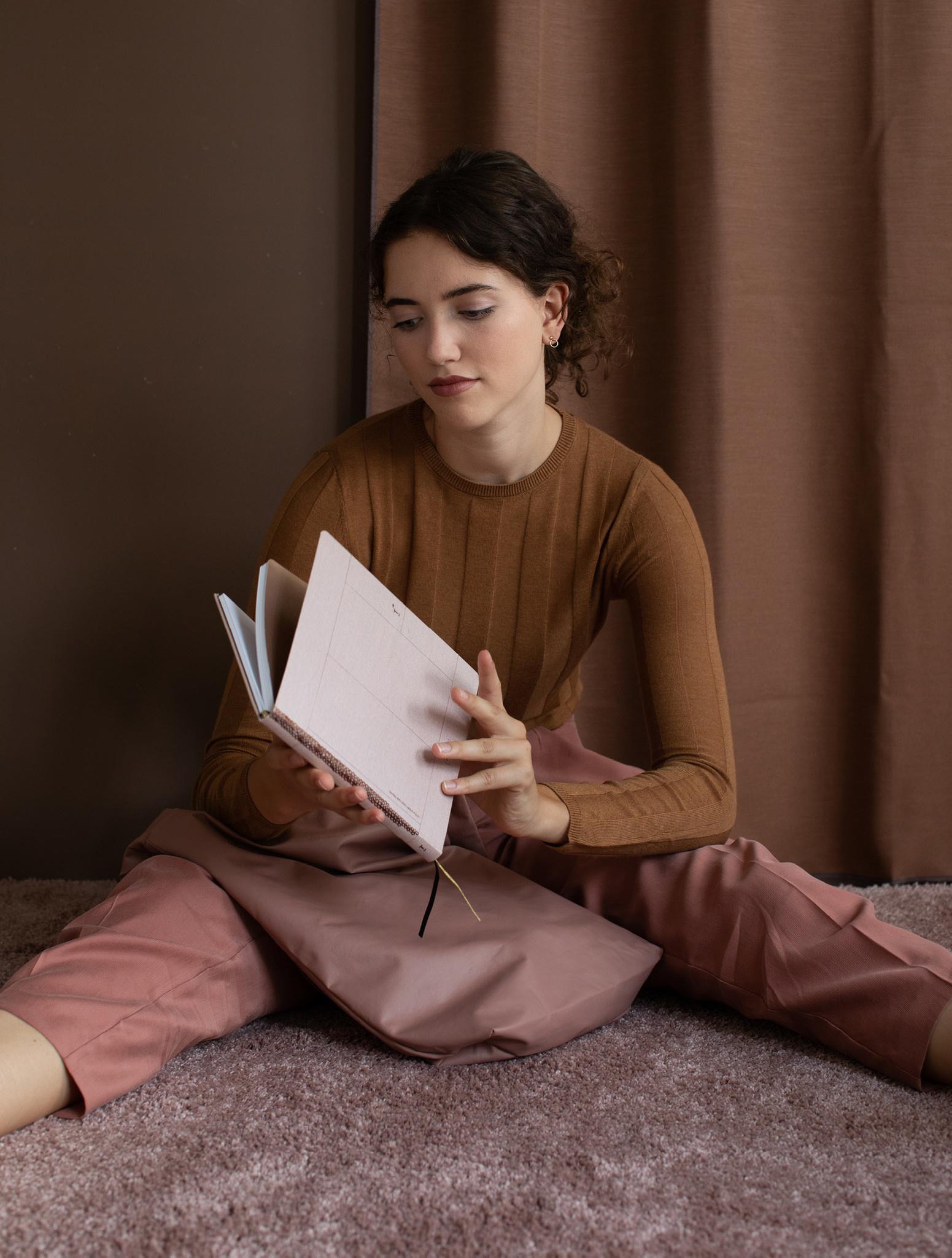 Notebook A5 - Rose Pale (5 stuks)-1