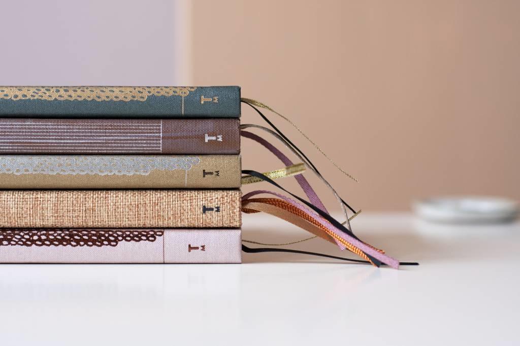Notebook A5 - Rose Pale (5pcs.)-4