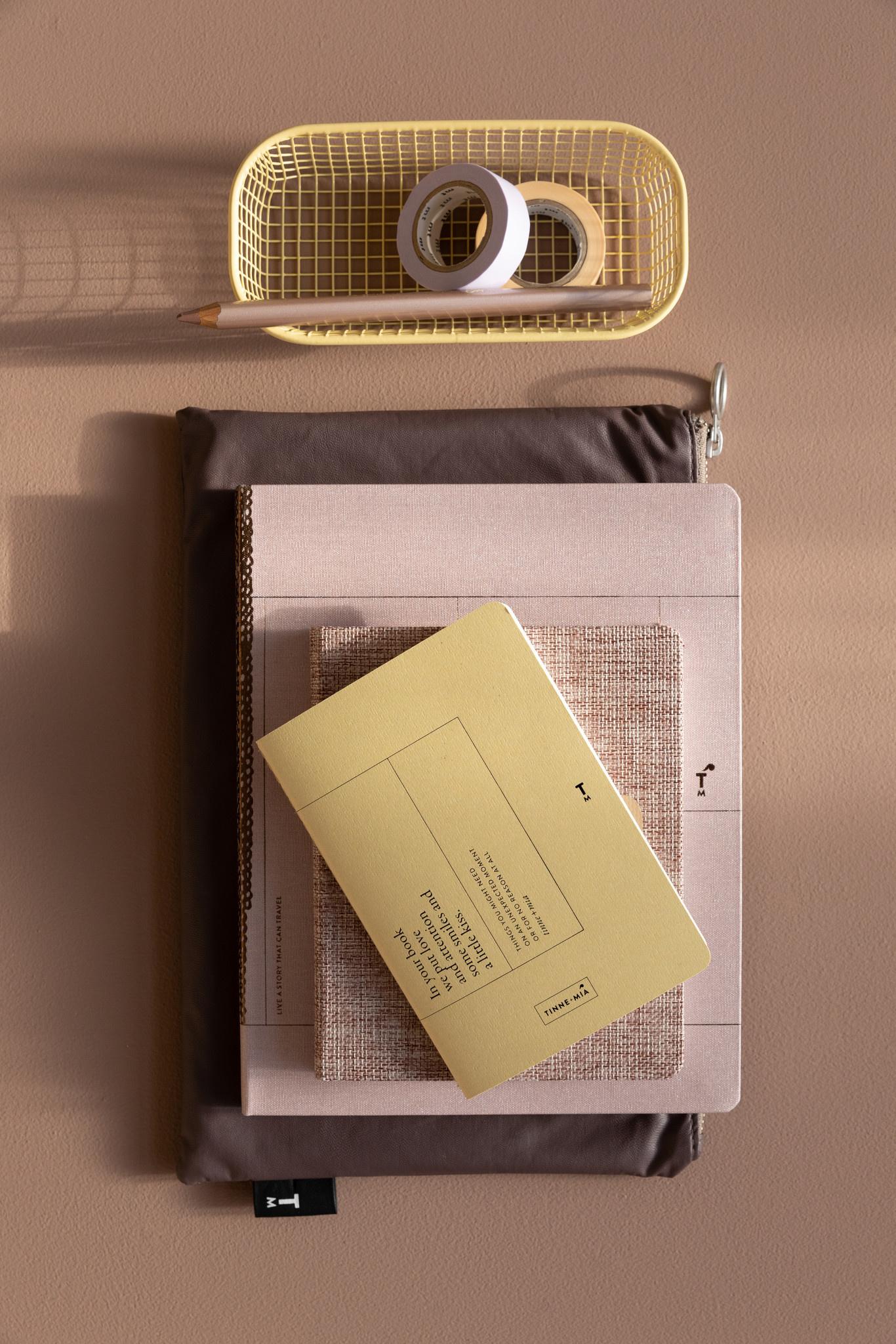 Notebook A5 - Rose Pale (5pcs.)-5