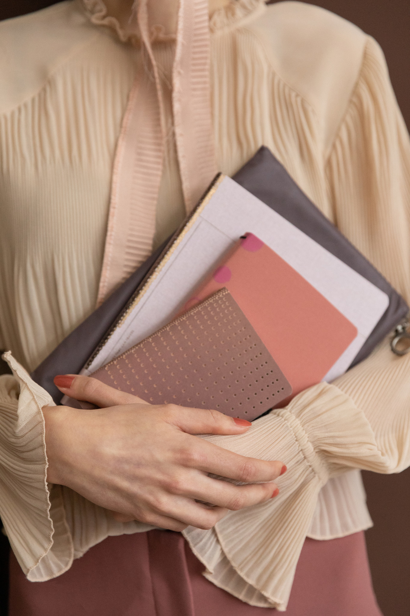 Notebook A5 - Rose Pale (5pcs.)-6