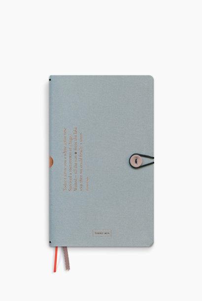 Notebook met knoop - Cloud (5 stuks)