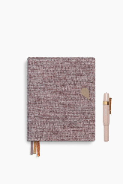 Notebook A6 - Rose dust (5 stuks)