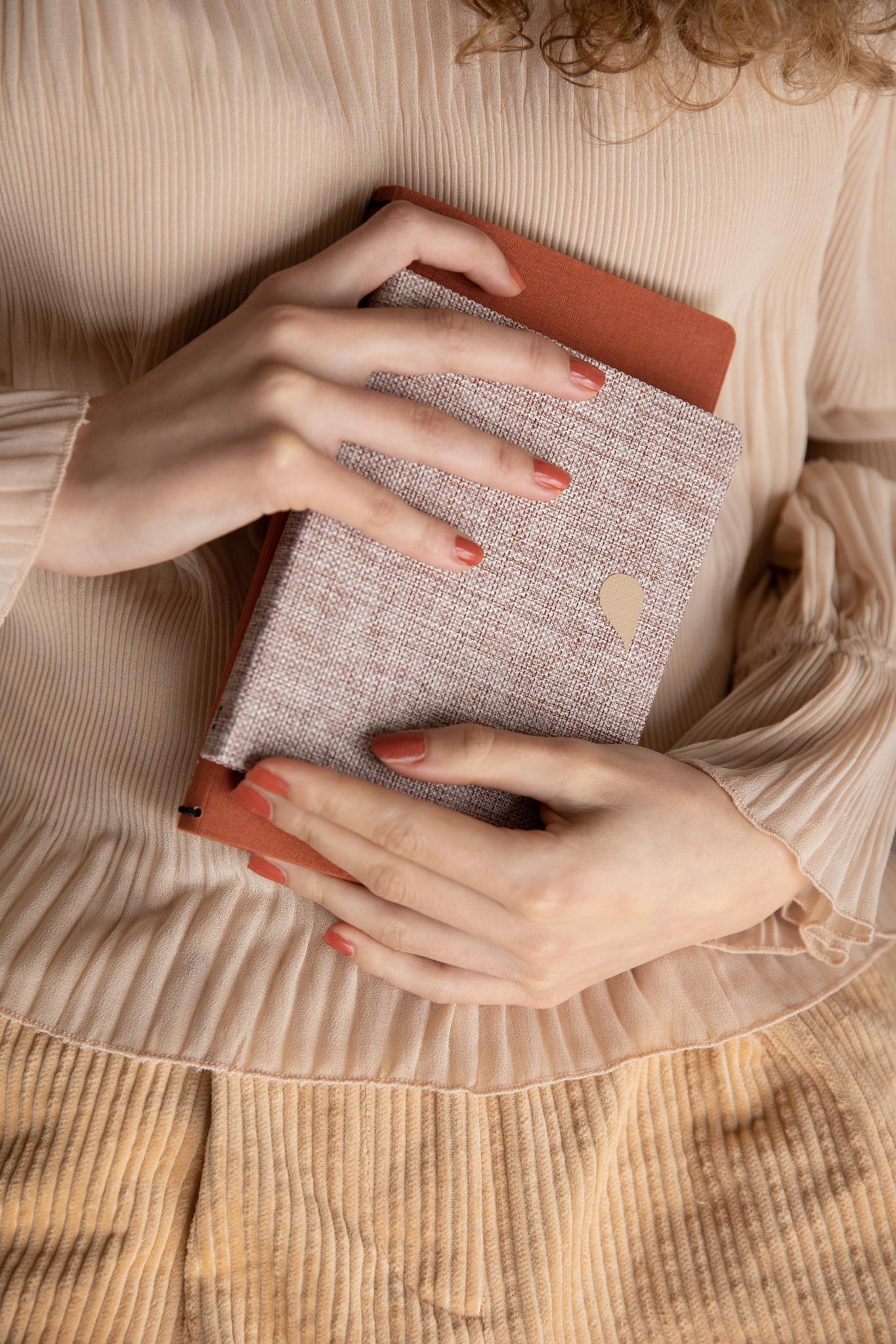 Notebook A6 - Rose dust (5pcs.)-2