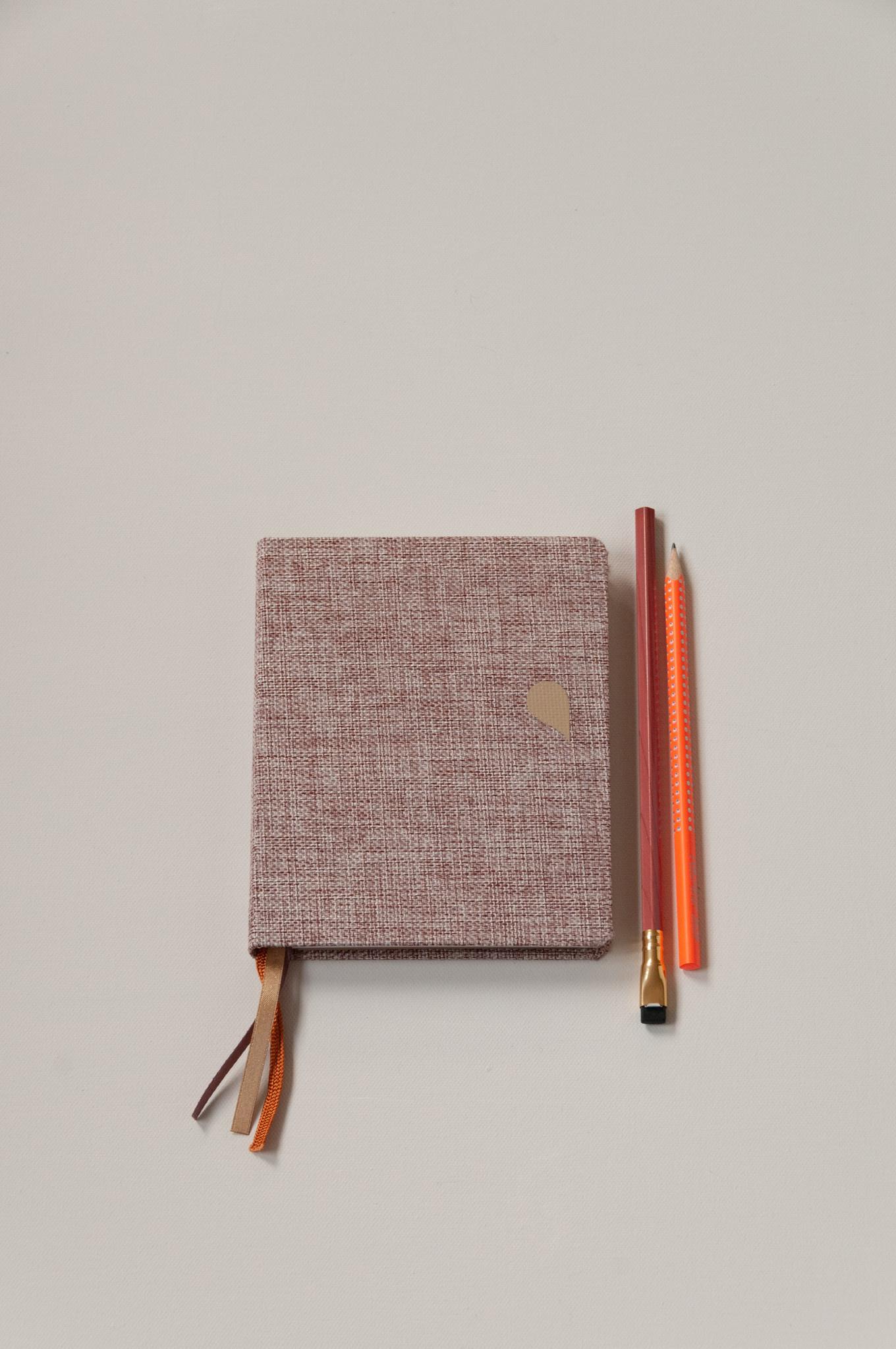 Notebook A6 - Rose dust (5pcs.)-3