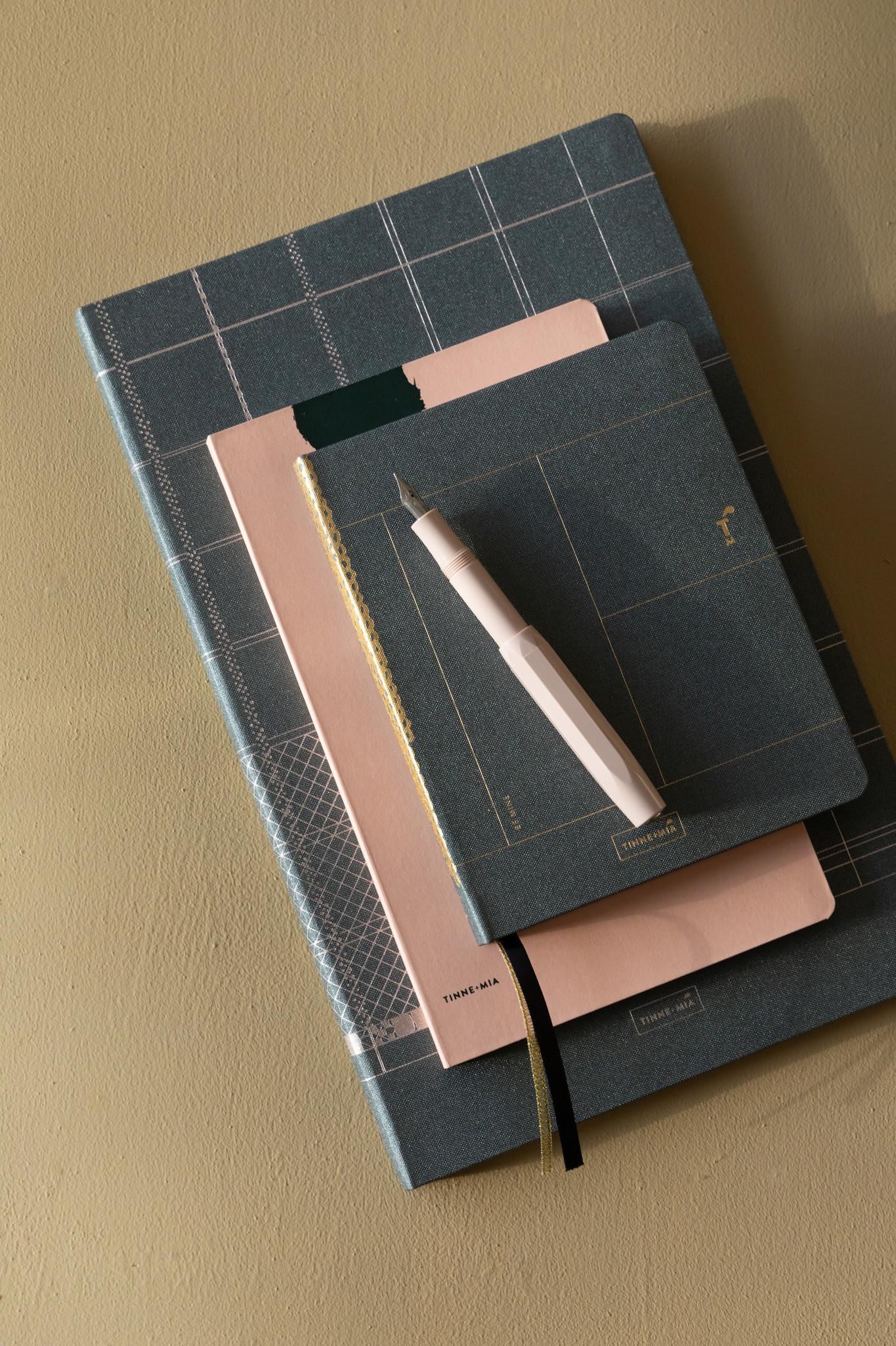 Notebook A6 - Forrest Green (5pcs.)-4