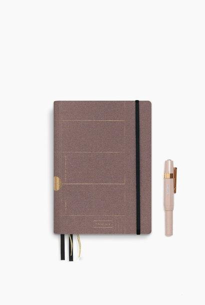 Travel Journal - Old Pink (5pcs.)