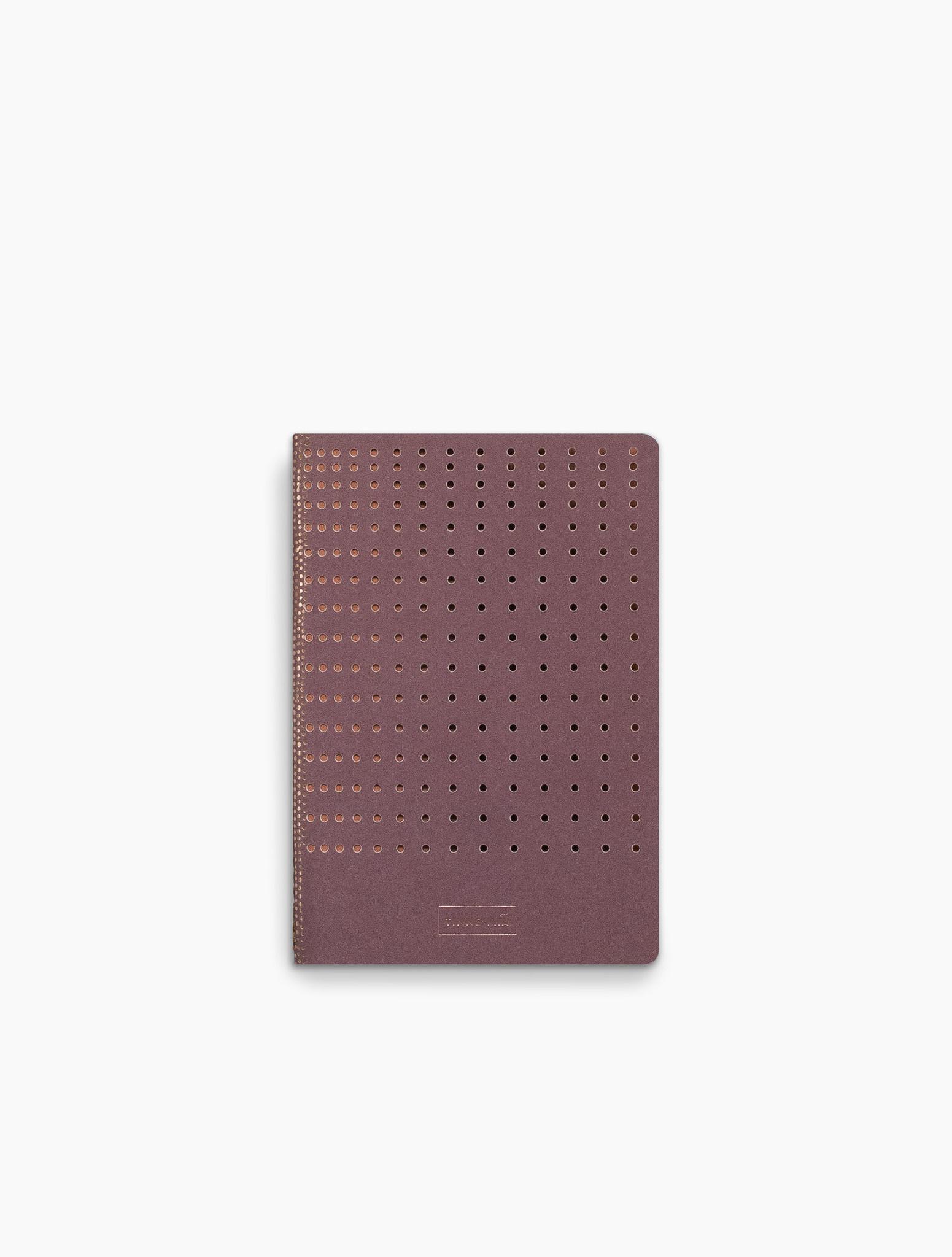 Note Booklet - gridded burgundy (10pcs.)-1