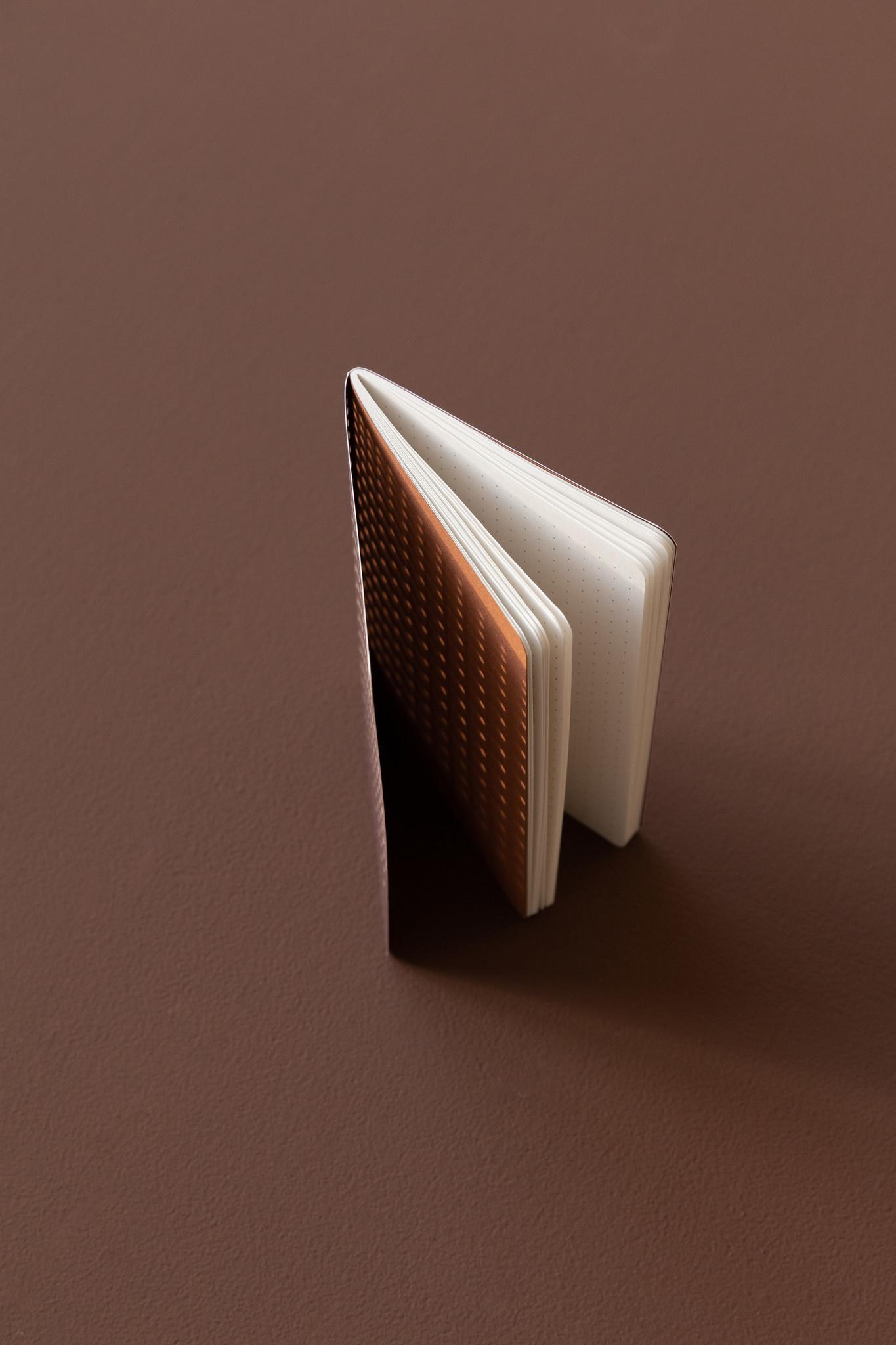 Note Booklet - gridded burgundy (10pcs.)-4