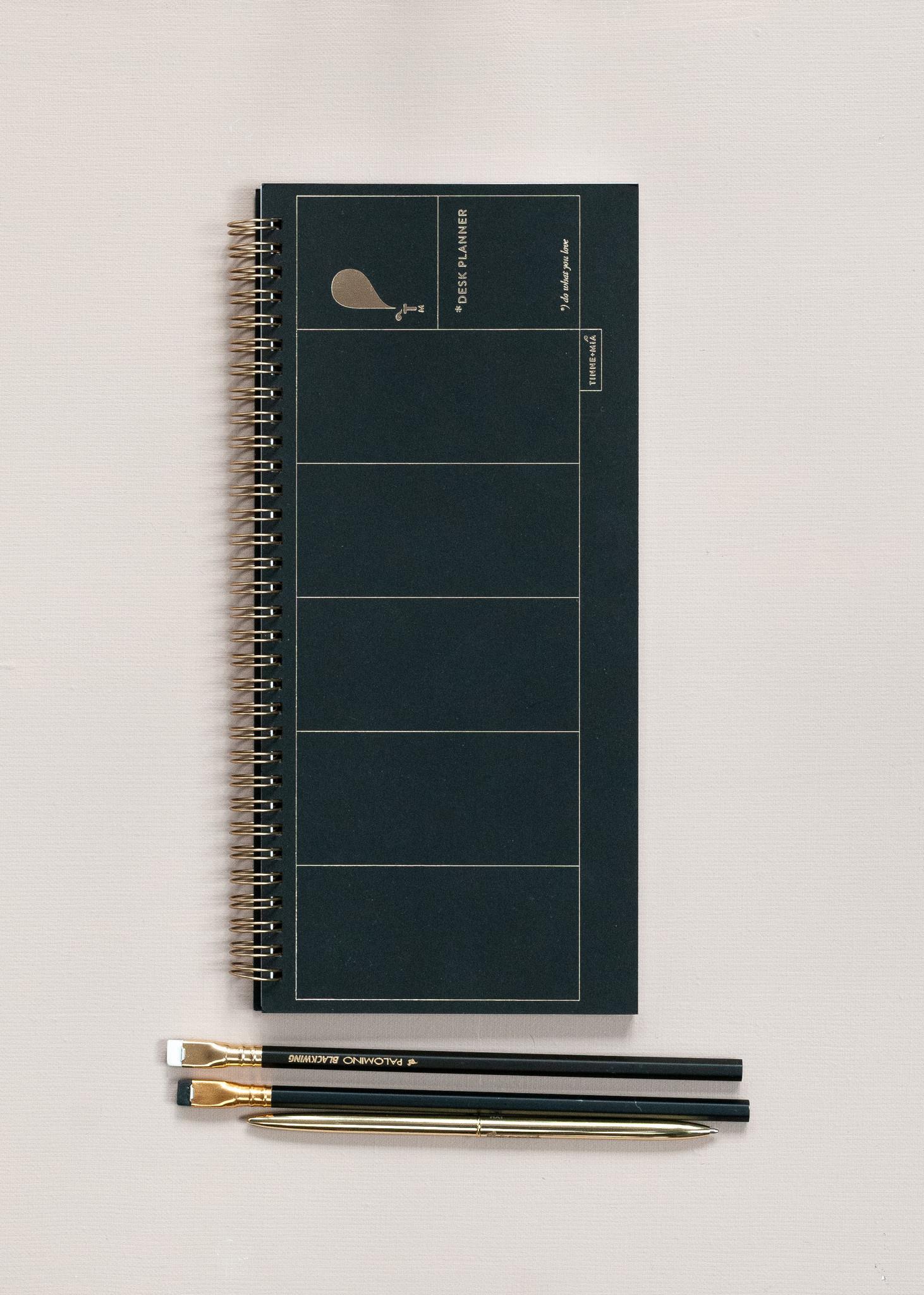 Desk Planner - Noir (5 stuks)-2