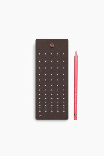 To Do lijst - Chocolate (5 stuks)