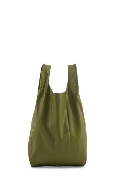 Marketbag - Olive green (3 stuks)